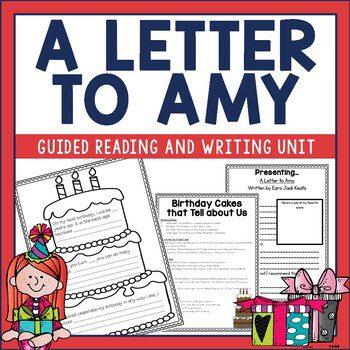 A Letter to Amy is a sweet book from author, Ezra Jack Keats. Check out this post for ideas on how to use it and other titles in your primary classroom.