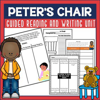 Peter's Chair is a sweet book by Ezra Jack Keats and part of an author study primary students love. Check out this post for lots of ideas you can use.