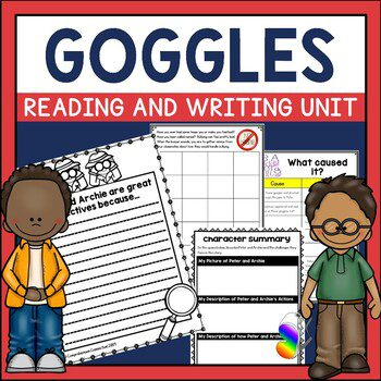 Goggles is a book by Ezra Jack Keats that focuses on the theme of bullying. Check it out and many of his other books in this author study post.