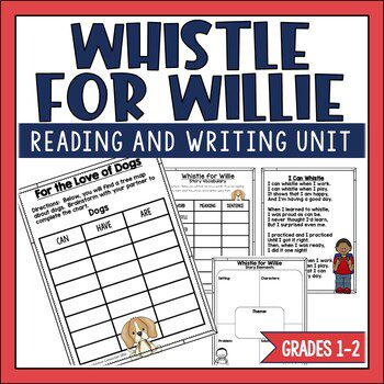 Whistle for Willie is a sweet book about Peter's beloved dog, Willie. This book along with Ezra Jack Keats' other books are featured in this post.