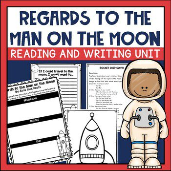 Regards to the Man on the Moon is a sweet book by Ezra Jack Keats. Check it out to see how it and his other books can work in your primary classroom.