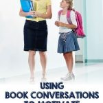 How powerful are the conversations you have one-on-one with your students? You know the ones...in the hallway as you're waiting for your resource teacher to begin class, in the lunch line, or as you're waiting for buses to be called in the afternoon? Those moments in time are what our students remember, and they are VERY motivating. These are times for book conversations. This post includes tips on conferring with students.