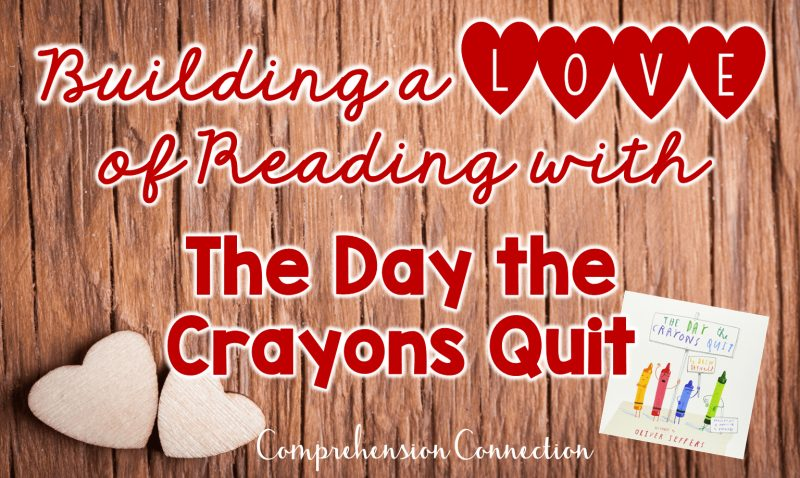 Teaching questioning skills starts in first grade. This mentor text lesson using The Day the Crayons Quit will help get your students started. Freebie included.