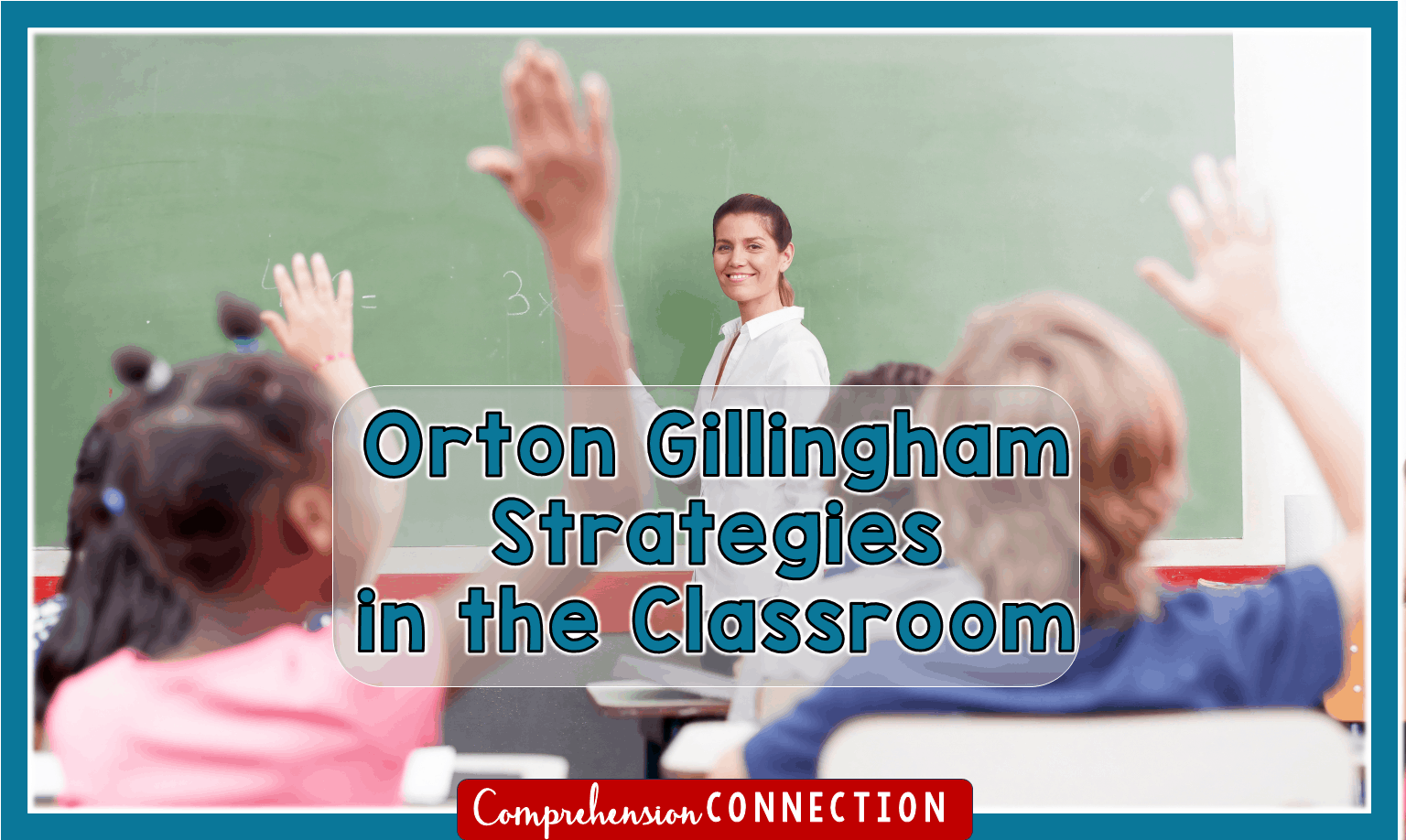New learning is cemented in the brain when we use a visual, auditory and kinesthetic approach simultaneously. In this post, Orton Gillingham strategies for classroom teachers are explained.