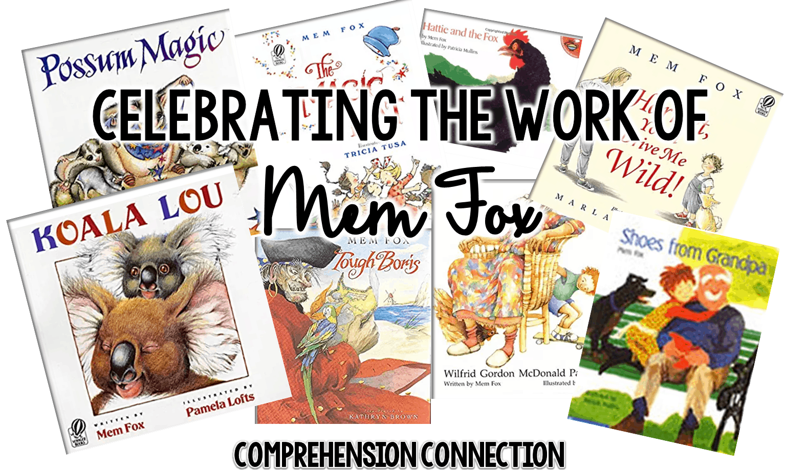 Who are your favorite children's book authors? If you have a concept to teach, do you have a favorite author or book collections you use? I definitely do, and today, I'd like to share one of my favorites, Mem Fox with you. Check out this post f