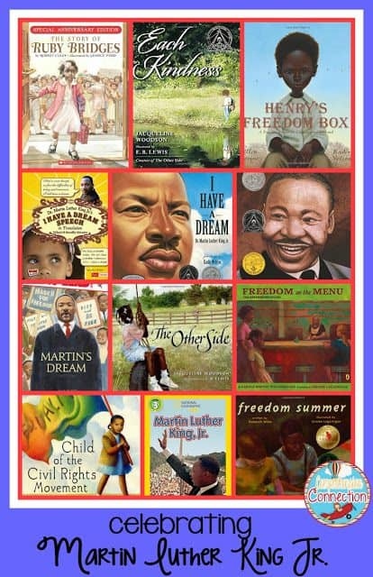 Take a moment and flip through the many quotes from Dr. Martin Luther King Jr.  Can you imagine what he'd say today with all of the conflicts going on in our world? There is so much to learn from his life and words. This post offers books and teaching activities to celebrate MLK Day.