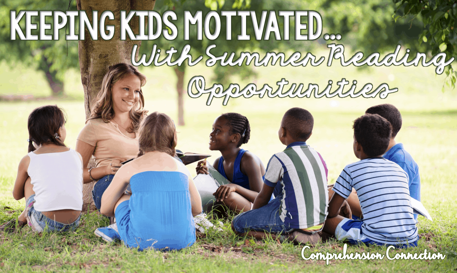 Summer is just around the corner, and like many teachers, you may be thinking about ways to keep your students' skills up during those months while they are away from school. Or maybe you're a mom or dad who needs ideas to keep your little one busy. Never fear! I have a few ideas you might try out to keep summer reading happening daily.