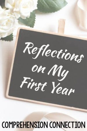 Your first year of teaching can be completely overwhelming. This post includes a review of my first year. What a special year!