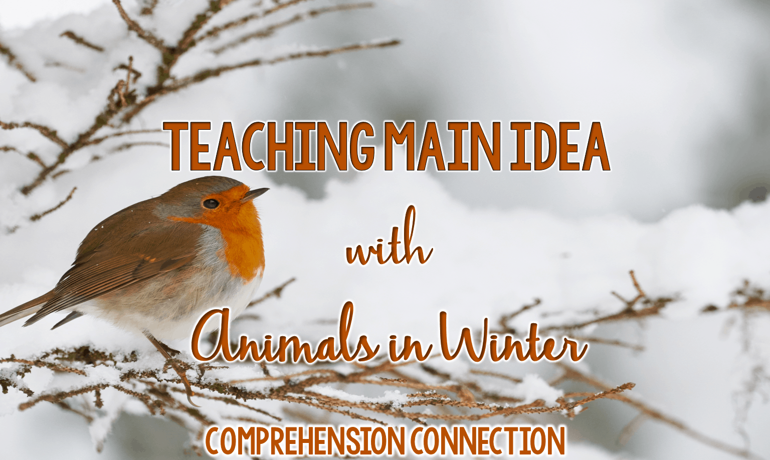 Main idea is one of the toughest skills for kids to grasp, and we even begin with main idea in first grade! This post breaks it down with a gradual release using Animals in Winter. Freebies included