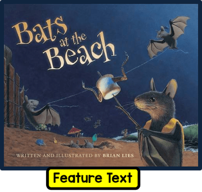 Bats at the Beach is a great rhyming book. In this blog post, it is used as a mentor text for organization. A free resource is shared to go with the lesson.