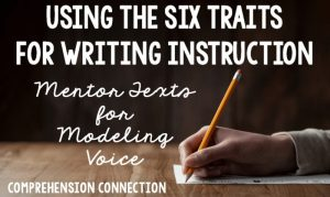 Read more about the article How to Teach Voice using Mentor Texts