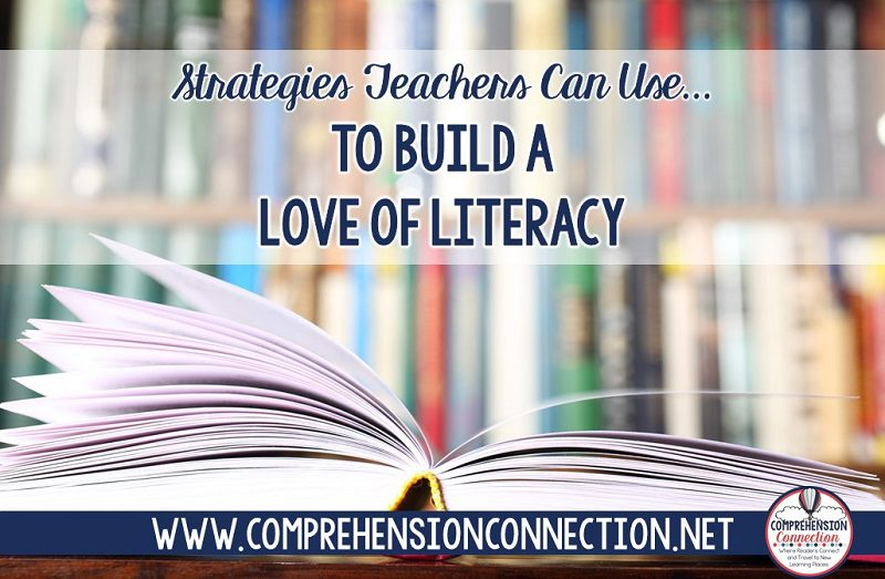 If you're looking for ways to build a love of literacy in your classroom, check out this post for seven helpful ideas you can easily implement.