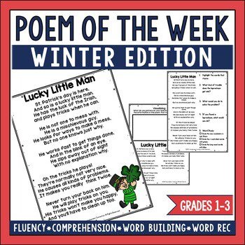 This jam-packed post includes 10+ activities you can do using poem of the week. Freebies included.