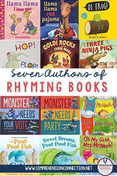 Dr. Seuss's books have been the go-to books for rhyming, but some teachers prefer other options. This blog post includes seven fun new authors of books that have rhythm and rhyme. Check it out to learn more.