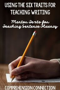 When I think of books that demonstrate strong sentence fluency, I think of books that have creative sentence structure. Sentences flow well and are carefully crafted to best express the author's message. Sentences can be long and winding joining one idea to the next or can be purposefully short and choppy, but the message is clear. In this post, I share mentor texts for working on sentence fluency and the six writing traits. Freebies included