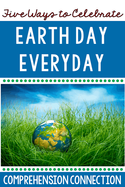 This round up post includes a great collection of recommended books, project ideas, video links, websites, and more for you and your students to celebrate Earth Day.