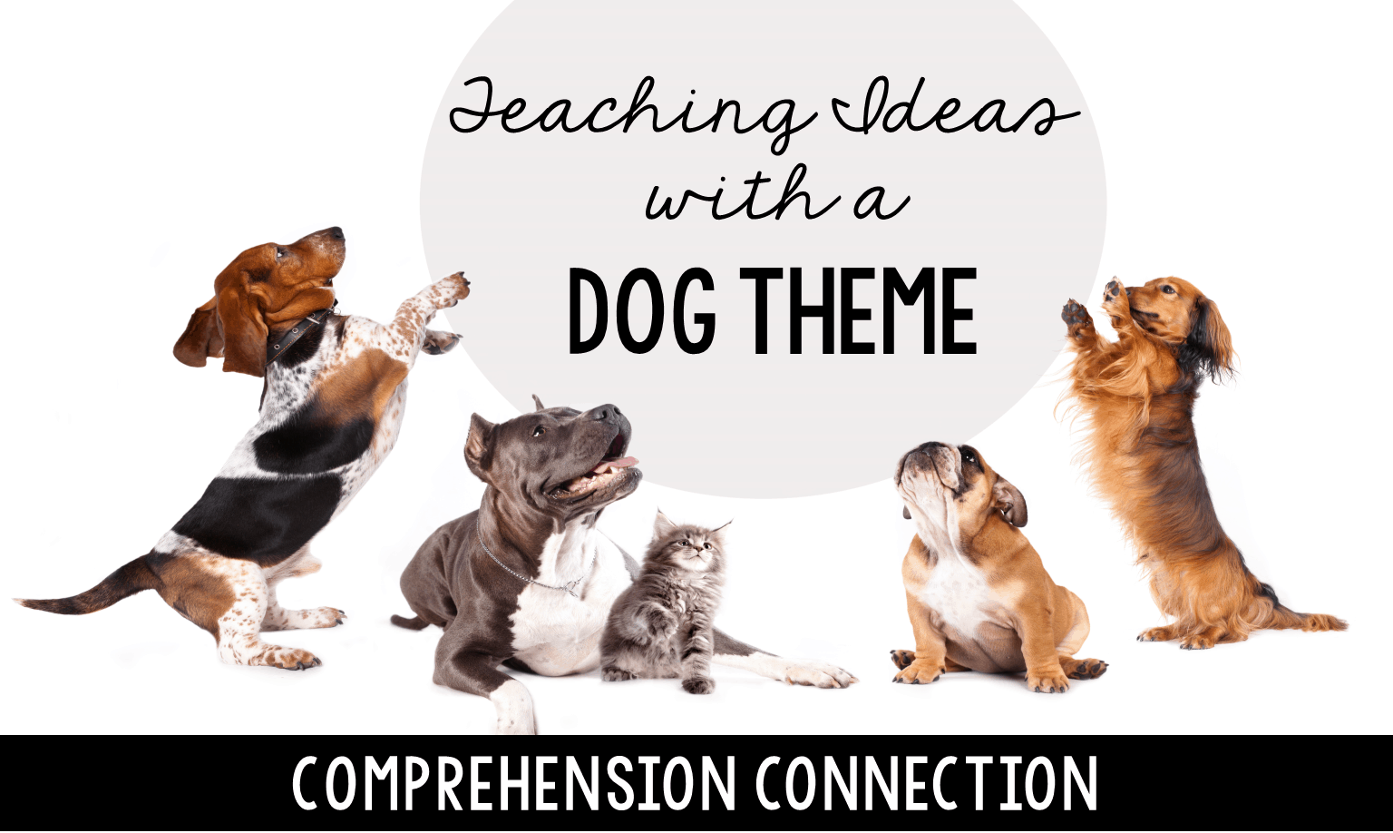 Kids love sharing stories about their pets, and in this post, I share teaching ideas for a dog theme as well as LOTS of book recommendations and free resource links.