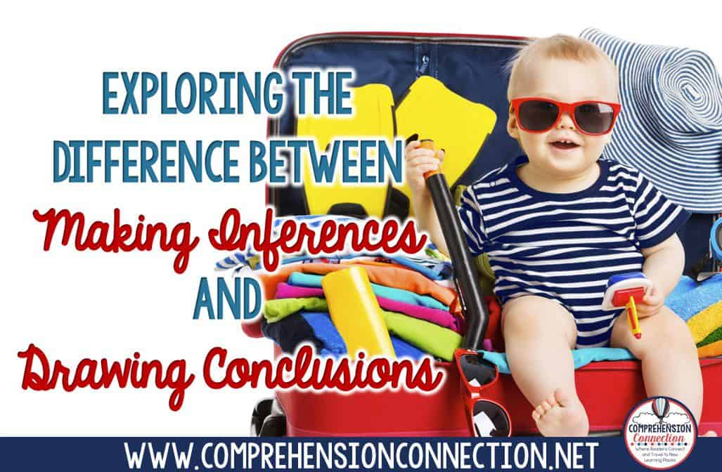Making inferences and drawing conclusions are two challenging skills. In this post, I explain the difference and provide lesson materials.