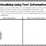For some readers, visualizing seems to be done automatically. As I reflect on my reading instruction, I think I must have been one of those kids. I don't recall any of my teachers explicitly teaching me to visualize or even discussing the term, but rather I think I just did it. For children that struggle with reading, this truly is a skill that needs to be taught. This post includes tips to help make it easier for all.