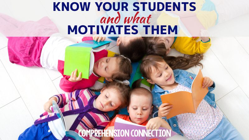 Motivation is necessary for all students to become readers and to use their reading skills. This post includes strategies teachers and parents can use.