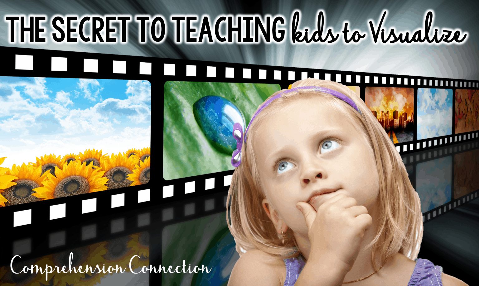 Visualizing is critical to reading comprehension, but some kids struggle with it. Check out this post for suggestions you might try out. (freebies included)