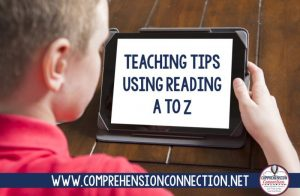 Read more about the article How to Model Reading Strategies with Reading A to Z