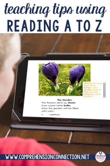 Reading A to Z has been around for a few years now, and it's still a wonderful program! In this post, you'll see ways to use the projectable format for teaching and learning.