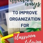 Do you have tutoring volunteers? Check out this blog post to view organizational tips for working with parent volunteers and paraprofessionals to assist your struggling students.
