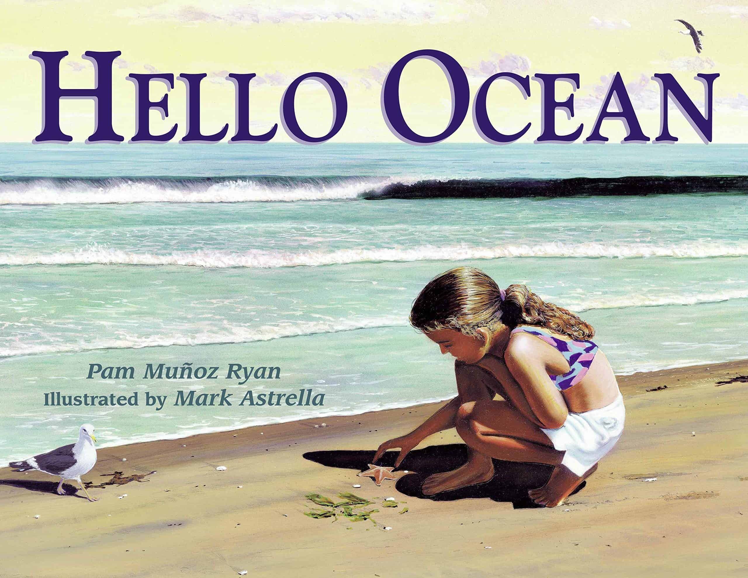 Voice is one writing skill that directly connects to reading. Hello Ocean is a wonderful choice for modeling imagery. The words chosen are so perfect
