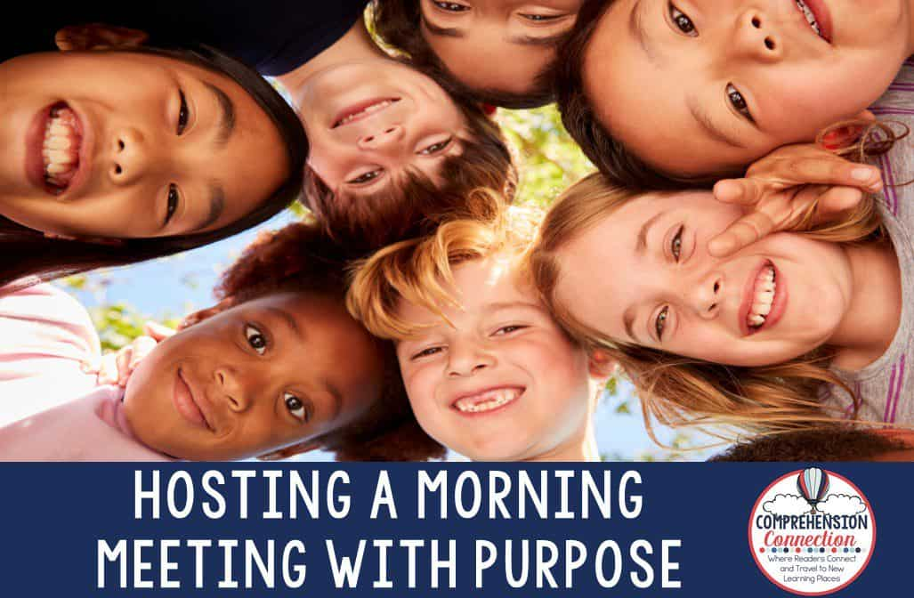 Community building is important BEYOND the first few weeks of school. This post includes tips for meaningful morning meetings where you can work on community building all year long. Check it out to learn more.