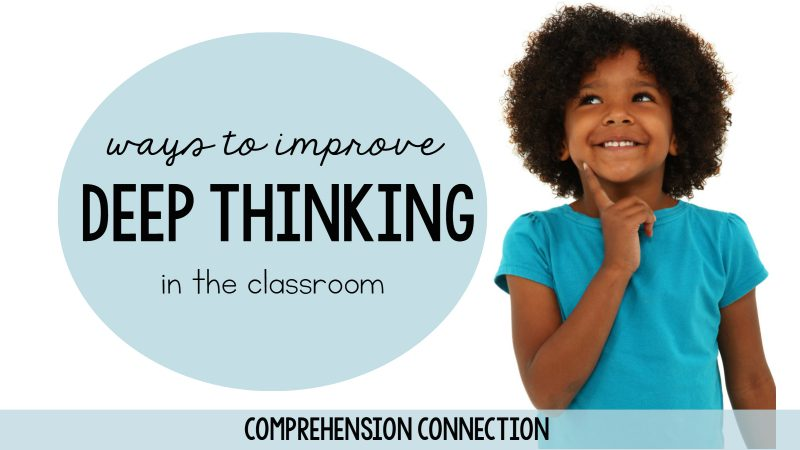 Deep thinking doesn't come easy, With purposeful strategy work, we can help young learners. This post offers tips and resources.