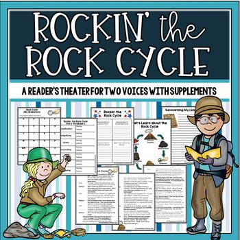 This fun partner play for includes key concepts from the Rocks and Minerals standards. It includes before, during, and after activities.