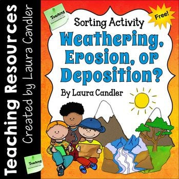Weather, erosion, and deposition just got easier with this great free resource from Laura Candler
