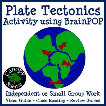 This activity goes with Brain Pop's Plate Tectonics video.