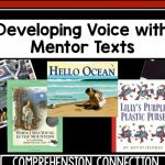 Using the Six Traits for writing gives students consistent writing language. This post includes books that work well for developing voice.