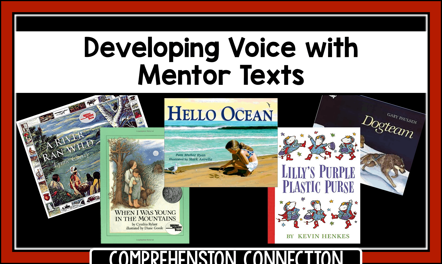 Developing voice in student writing is best done using mentor texts that students can imitate. In this post, you'll find book recommendations you can use and how to use them.
