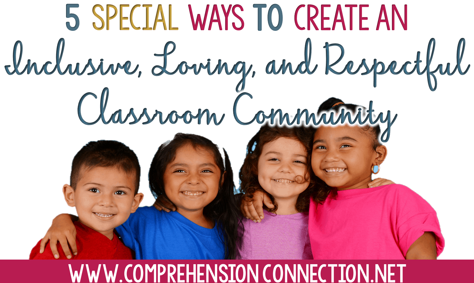Building a positive, inclusive, and respectful classroom community is so so important. This post includes five tips you can use to make your classroom safe and loving for all.