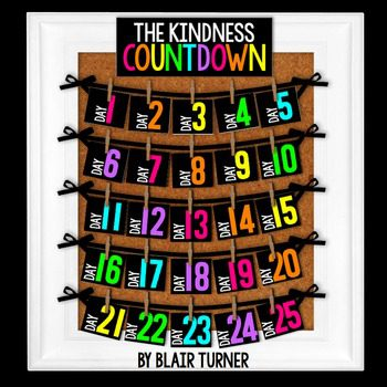 Use this kindness calendar to focus on classroom community.