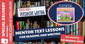 Read more about the article How to Teach Persuasive Writing with I Wanna Iguana