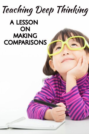 Making comparisons across texts is an important analytic skill for students. If we directly teach how to make comparisons, then kids will naturally do so with independent reading too. Check out this post for a variety of texts and ways you can teach kids to compare.