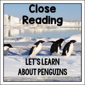 Close Reading about Penguins