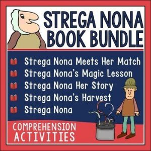 Making comparisons across texts starts with great book choices. Comparing books with the same genre such as different versions of Cinderella or The Three Little Pigs work well. You can also compare books by the same author such as Tomie DePaola's Strega Nona series. Check out this post for lesson ideas and resources you can use.
