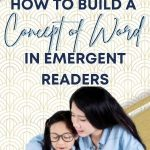 Developing a concept of word doesn't happen overnight. Gradually, we see kindergarteners transform from non-readers to readers over the course of the year. In this post, I share a review of how concept of word develops and give you a new COW poem to add to your collection.