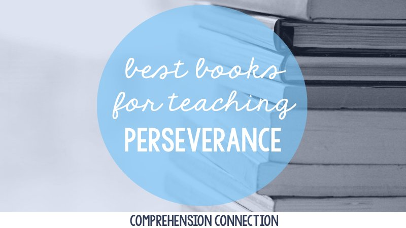 Persevering through challenges is a tough skill for kids to develop. With modeling and practice, it helps kids who struggle with reading push through when it's hard. This post includes two great books to include as a model.