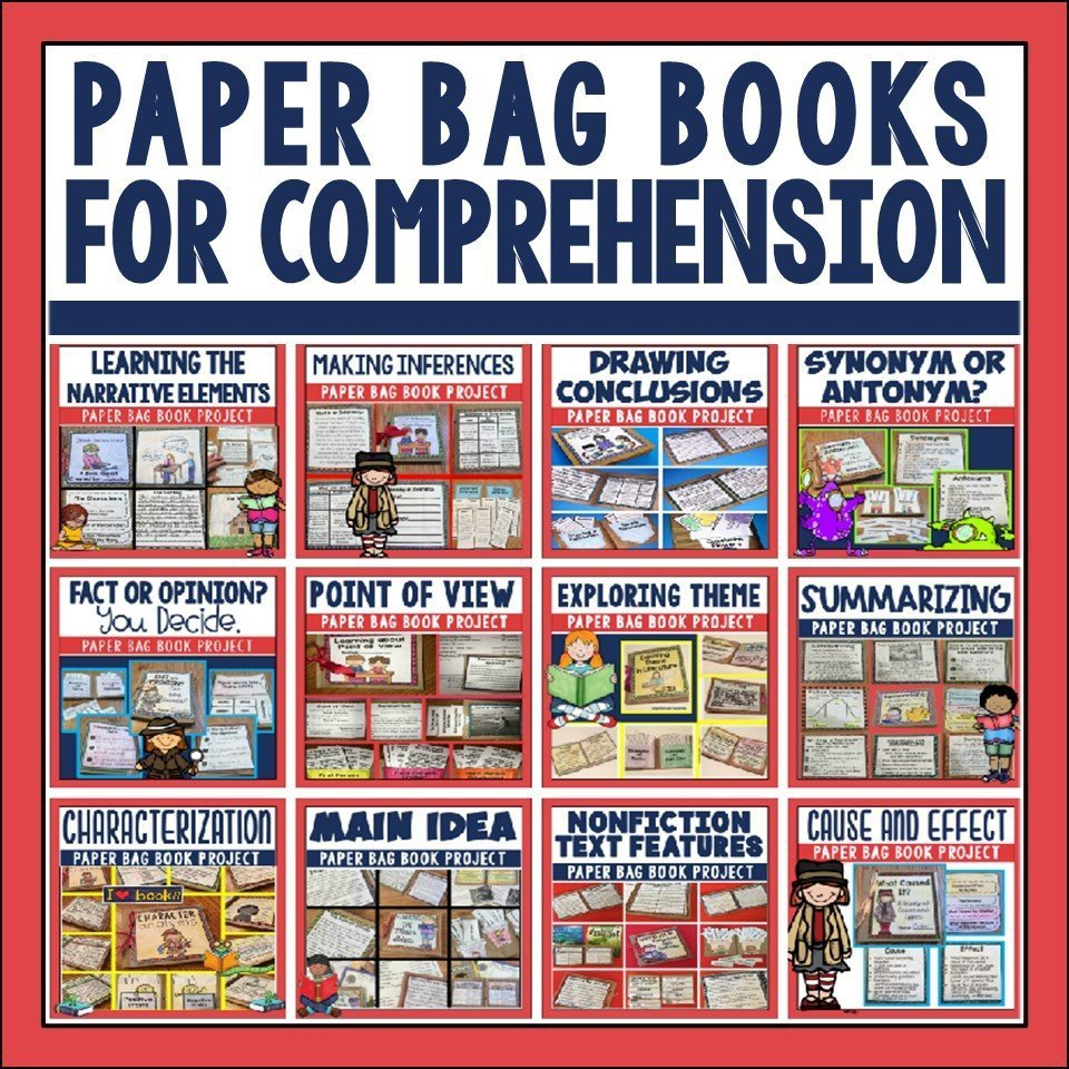 Paper Bag Books for Comprehension