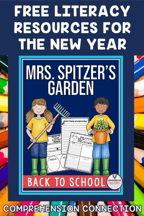 Build classroom responsibility when you return back to school using the book, Mrs. Spitzer's Garden. This free resource comes in digital and pdf.