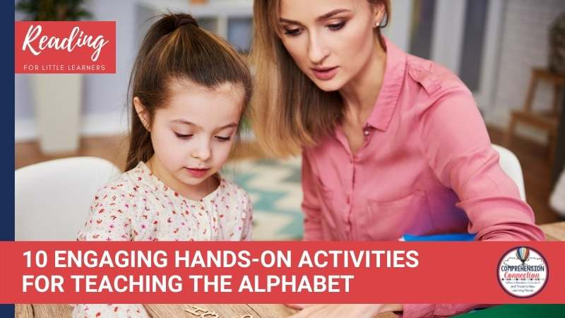Learning to read starts with learning the alphabet. This post offers 10 hands-on alphabet activities for little learners.
