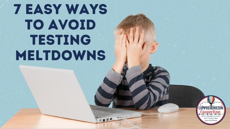 State testing is just around the corner, and the pressure is building. This pressure often leads to student frustration and testing meltdowns. In fact, those testing meltdowns might come from teachers!