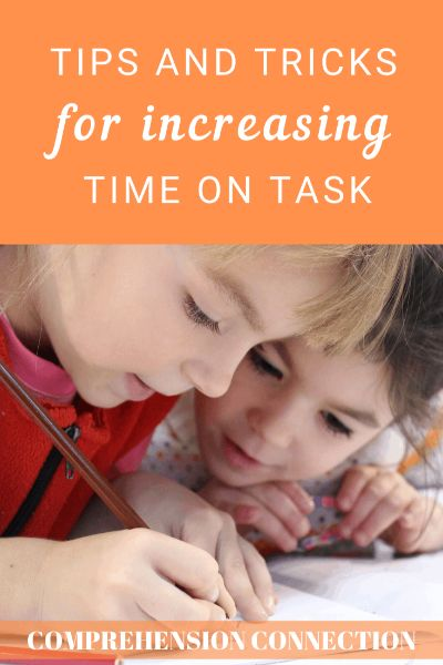 Keeping students on task can be a bit of a challenge for even the most talented teacher. Kids are naturally playful, but there are things we can do to establish solid expectations for the focused learning. In this post, I share a few tips that I've found helpful for increasing time on task.