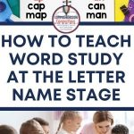 If your students represent individual sounds in their writing, then they are considered letter name spellers. These students are beginning readers, and they need a strong phonics foundation. In this post, I share with you the feature sequence and teaching tips for letter name spellers.